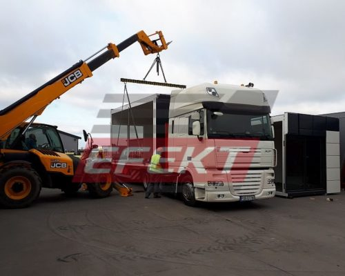 Loading pavilions in the Efekt company